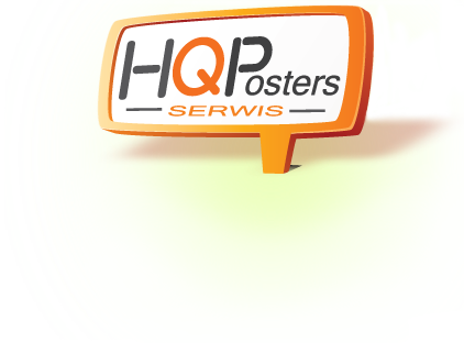 HQ Posters Logo | Bilboardy | Plakaty